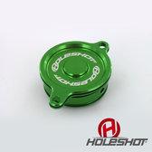 Lock till oljefilter KXF 450 06->, KLX 450 08-09 Grön