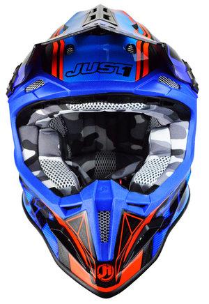 Just1 J12 Dominator Blå/Röd