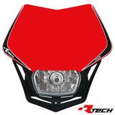 Headlight V-Face Röd