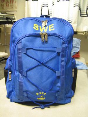Sverige ryggsäck