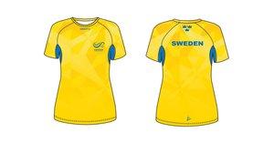 Craft Sverige T-shirt DAM