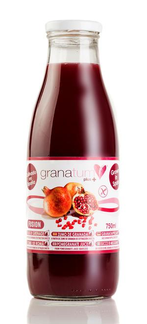 100% Färskpressad Granatäppeljuice 12-pack á 750 ml (9 liter)