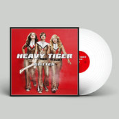 HEAVY TIGER - GLITTER (LP, WHITE VINYL)