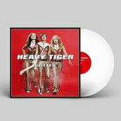 HEAVY TIGER - GLITTER (LP, WHITE VINYL)