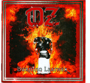OZ - BURNING LEATHER (CD)