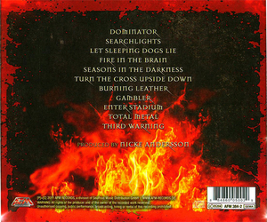 OZ - BURNING LEATHER (CD)