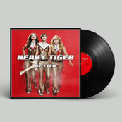 HEAVY TIGER - GLITTER (LP, BLACK VINYL)