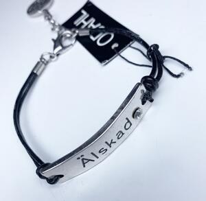 "a940-2 Armband ""Älskad"""