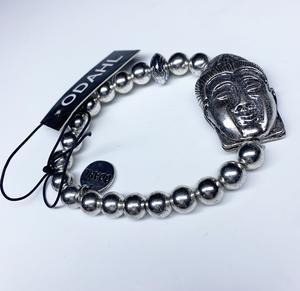 a167 Buddha armband i metall
