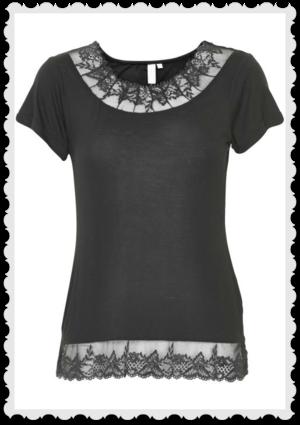 Florence t shirt Pitch black från Cream Storlek M