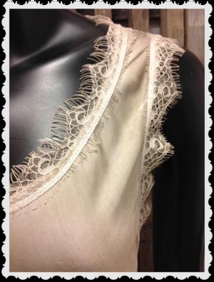 Härligt linne i beige one size