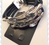 a24 Stort bling armband