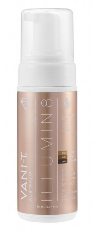 Illumin 8 Dry Oil Express Self Tan Mousse 150 ml