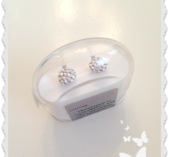 Natural titanum crystal ball 6 mm