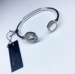 Silver armband med bing för alla tillfällen