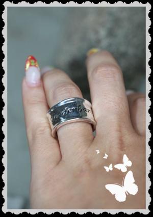 r38 Ring Underbar & Älskad storlek L