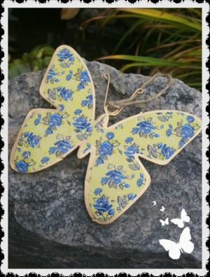 Stor gul fjäril
