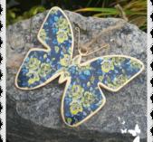 Stor blå fjäril
