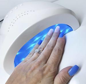 gl24 Galaxy UV/Led Lampa White Pearl