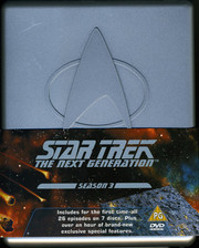 Star Trek: The Next Generation - Säsong 3 (Plastbox)