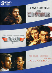 Collateral / Top Gun / War of the Worlds (3-disc)
