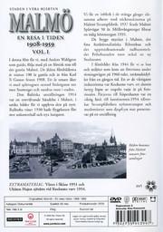 Malmö Volym 1 - En Resa I Tiden 1908-1959