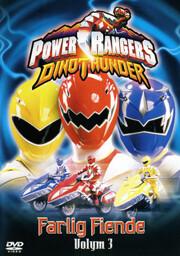 Power Rangers Dinothunder - Volym 3 Farlig Fiende