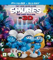 Smurfarna - Den Försvunna Byn (Real 3D + Blu-ray)