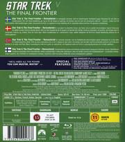 Star Trek 5 - The Final Frontier (Blu-ray) (Begagnad)