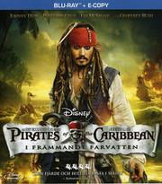 Pirates of the Caribbean - I Främmande Farvatten (Blu-ray)