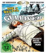 3 Worlds of Gulliver (ej svensk text) (Blu-ray)