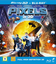 Pixels (Blu-ray + Real 3D)