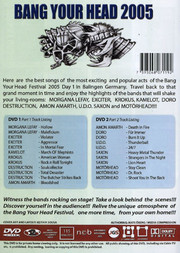 Bang Your Head 2005 - Day 1 (2-disc)