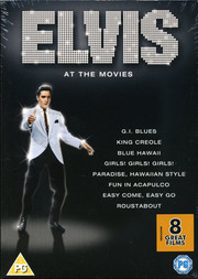 Elvis At the Movies Collection (8-disc)