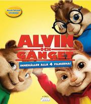 Alvin Och Gänget 1-4 Box (4-disc) (Blu-ray)