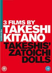 3 Films By Takeshi Kitano (3-disc) (ej svensk text)