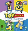 Toy Story 1-4 (Blu-ray)