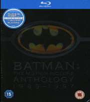 Batman: The Motion Picture Anthology 1989-1997 (4-disc) (Blu-ray)