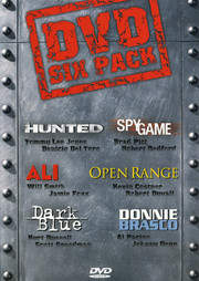 DVD Six Pack (6-disc) (Begagnad)