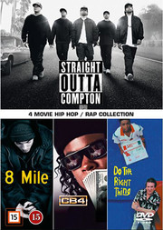 4 Movie Hip Hop/ Rap Collection