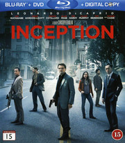 Inception (Blu-ray + DVD) (Begagnad)