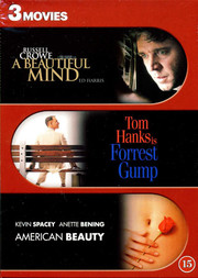 A Beautiful Mind / Forrest Gump / American Beauty (3-disc)