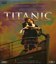 Titanic (Real 3D + Blu-ray + DVD)