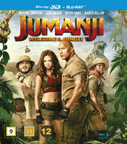 Jumanji - Welcome to the Jungle (Real 3D + Blu-ray)