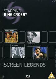 Bing Crosby Screen Legends (4-disc) (ej svensk text)