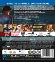Amazing Spider-Man (Real 3D + Blu-ray)