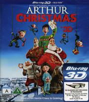 Arthur Och Julklappsrushen (Real 3D + Blu-ray)