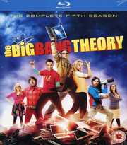 Big Bang Theory - Säsong 5 (Blu-ray) (ej svensk text)