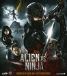 Alien Vs. Ninja (Blu-ray) (Begagnad)