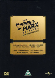 Marx Brothers 8 Movie Collection (8-disc) (ej sv. text på alla filmer)